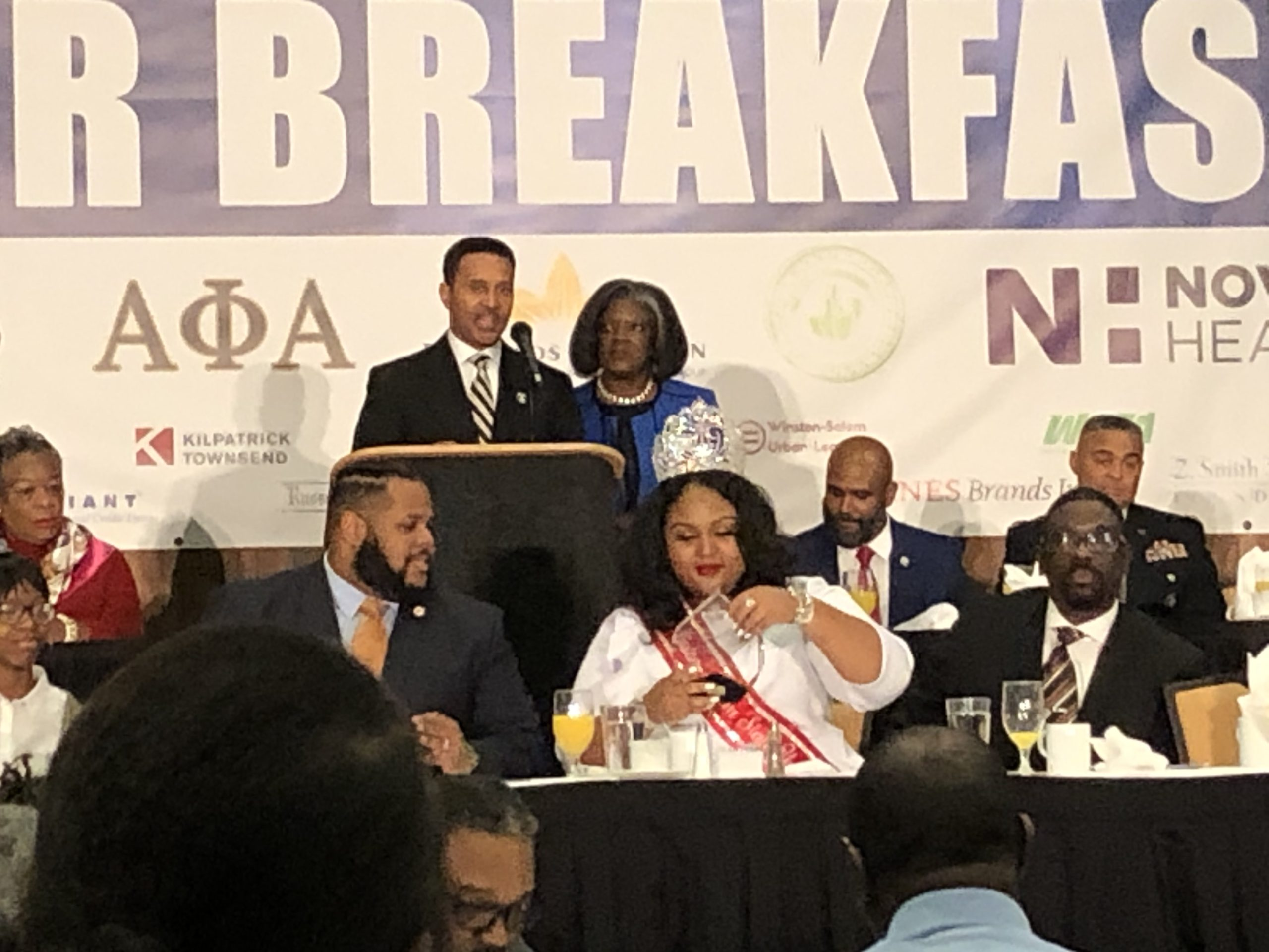 MLK Prayer Breakfast 1.20